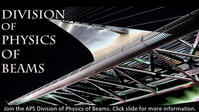 Join the APS Division of Physics of Beams